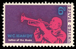 USA 1969 #1372 W.C. Handy 1v Mnh Music