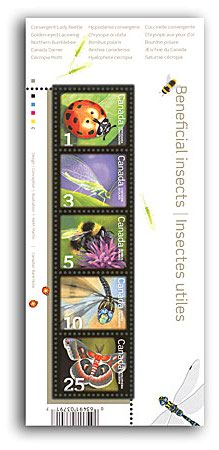 Canada #2238a Insects Definitive S/S Mnh