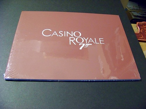 Casino Royale (2006) Daniel Craig Sealed Press Kit 30pp+