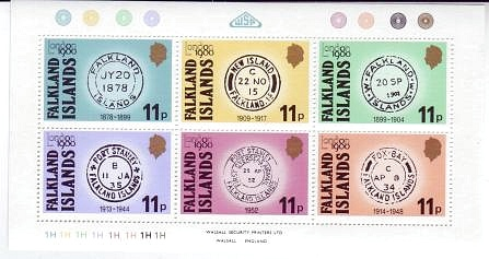 Falkland Islands #304 London 1980 S/S Mnh