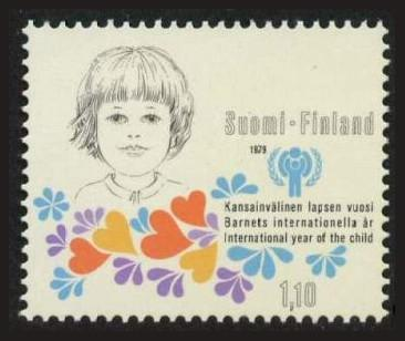 Finland #614 1979 Int'l Year of the Child / IYC 1v Mnh