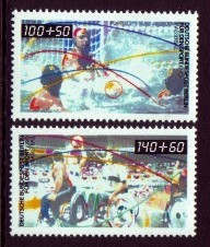 Germany, West Berlin #9NB277-78 Sports 2v Mnh
