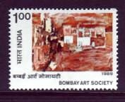India #1305 Bombay Art Society 1v VF Mnh