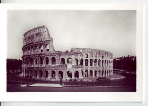 Rome c1920-1930's Mini Photo Collection and Cover 20 Photos B&W