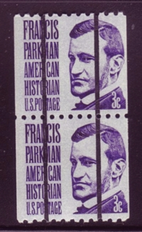 USA 1966 #1297b 3¢ Parkman Coil Precancel Shiny Pair Mnh
