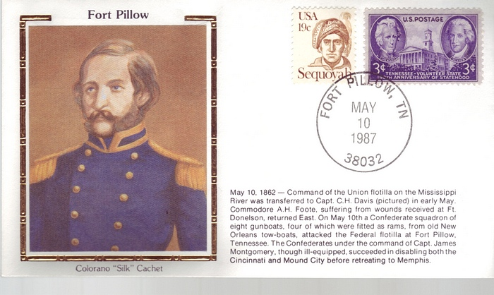 1862 - 1987 Civil War May 10th Fort Pillow Uniforms Colorano ""