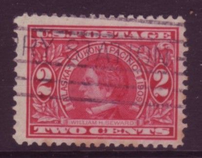 USA #370 Alaska Yukon 1v VF Used